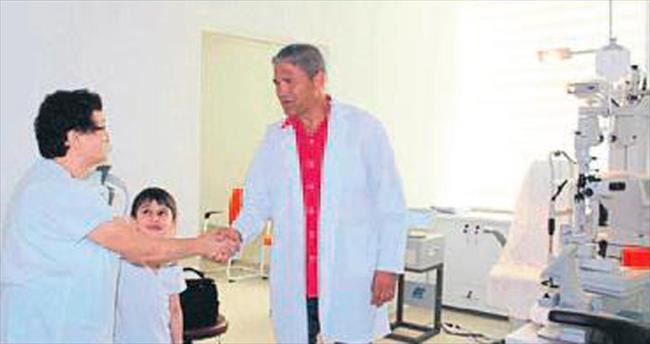 Çiğli'de teknolojik göz polikliniği