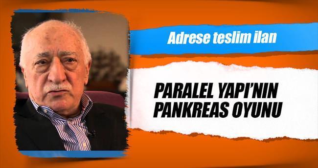 Paralel Yapı'nın pankreas oyunu