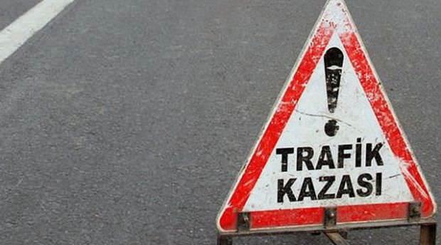 Konya'da trafik kazası: 1ölü, 1 yaralı