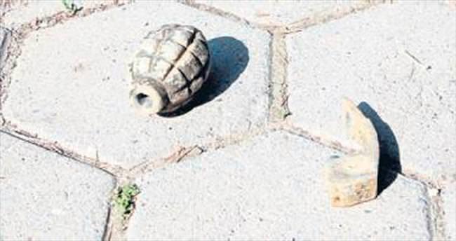Beydağ'da 3 adet el bombası bulundu