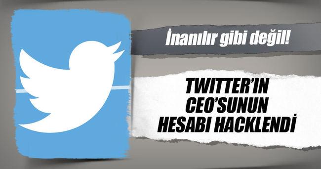 Twitter'ın CEO'su hack'lendi