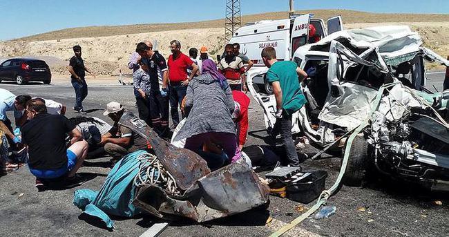 Konya'da trafik kazası: 4 ölü