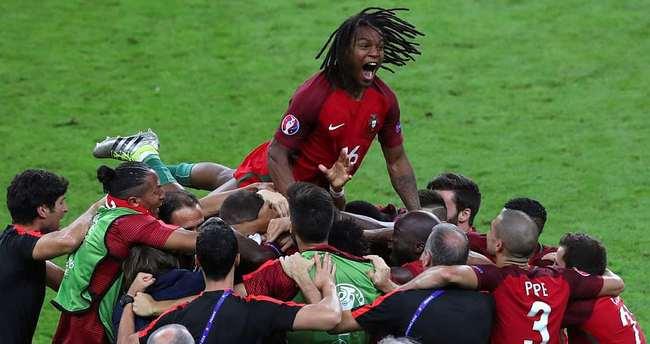 Portekiz tarihinde ilk kez Avrupa şampiyonu!