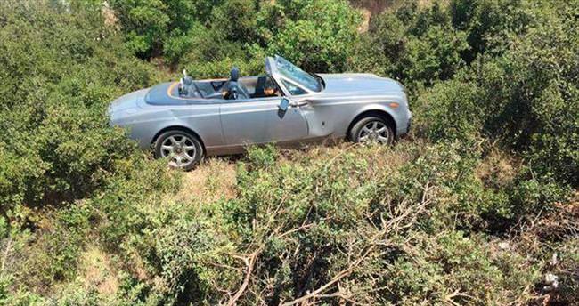 Ağaoğlu'nun Rolls Royce'u kaza yaptı