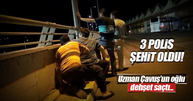 Şanlıurfa'da 3 polis şehit oldu