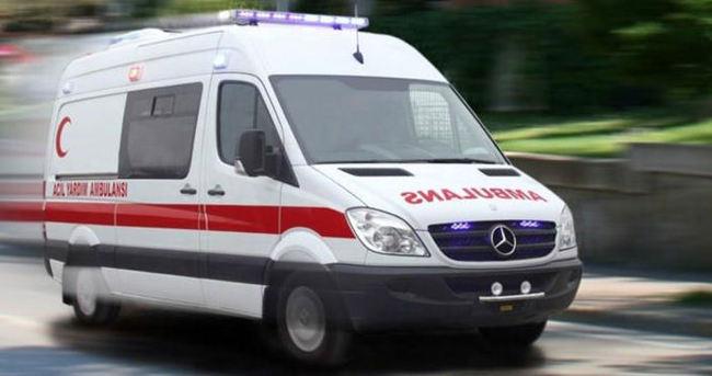 Çatı katından düşen çocuk ağır yaralandı