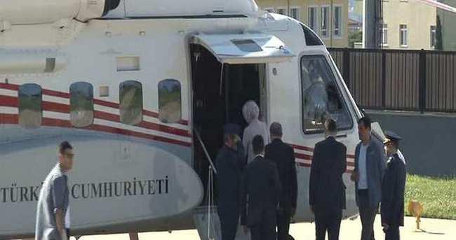 Cumhurbaşkanı Erdoğan Tarabya Köşkü'nde