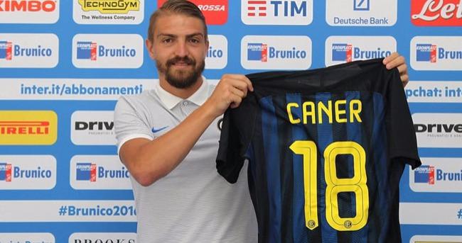 Inter, yeni transferi Caner Erkin'i tanıttı
