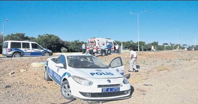 Polis memuru ölümden döndü