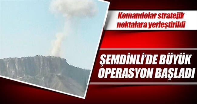 Şemdinli'de büyük operasyon başladı