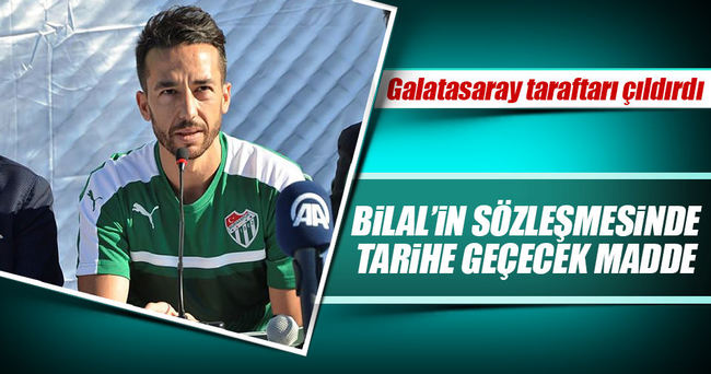Bilal Kısa 25 maç oynarsa Galatasaray zararda