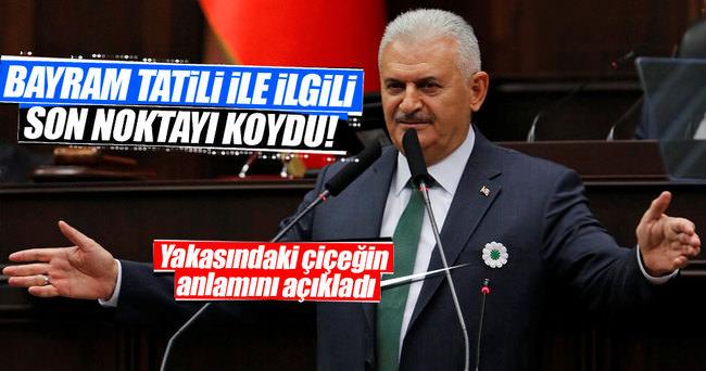 Başbakan Binali Yıldırım: Kurban Bayramı tatili 9 gün olacak