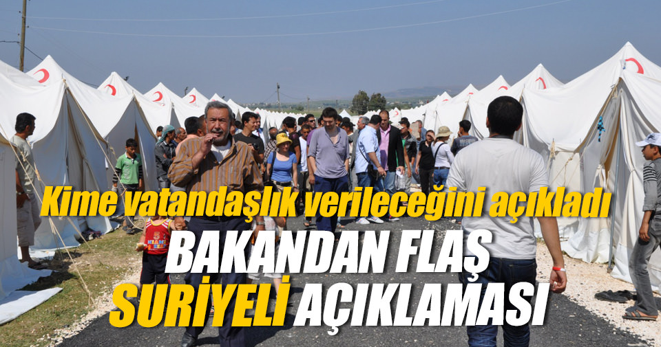Bakan Ala'dan flaş vatandaşlık açıklaması