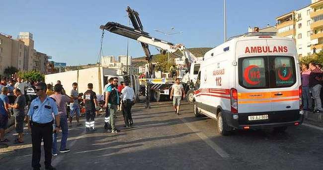 Aydın'da tırla otomobil çarpıştı: 2 ölü