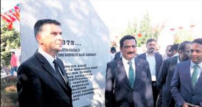 Srebrenitsa şehitleri Keçiören'de anıldı