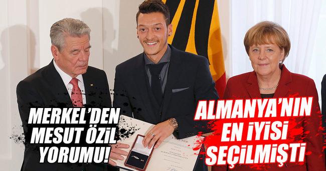 Angela Merkel'den Mesut Özil'e destek!