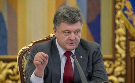 Ukrayna Devlet Başkanı Poroşenko Azerbaycan'da