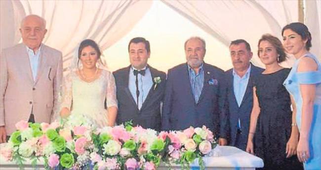 İskenderun'da muhteşem düğün