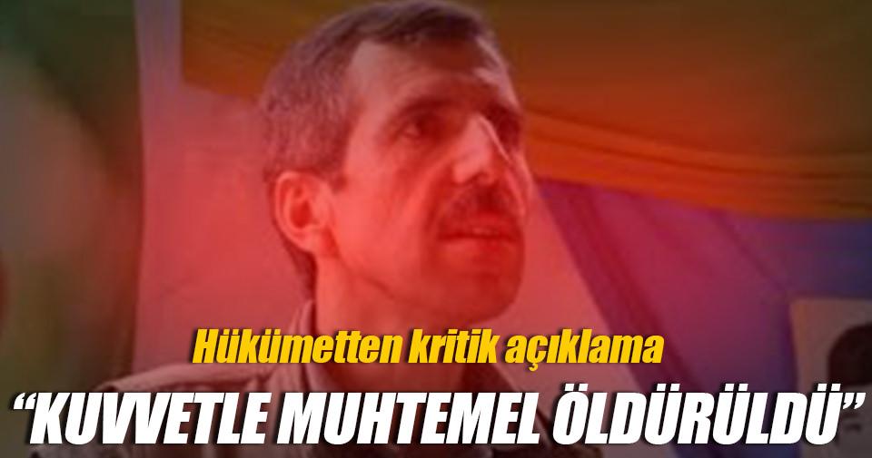 Başbakan Yardımcısı Veysi Kaynak'tan Bahoz Erdal açıklaması!