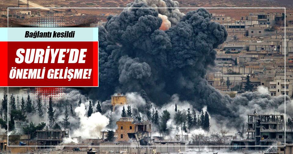 Suriye'de önemli gelişme