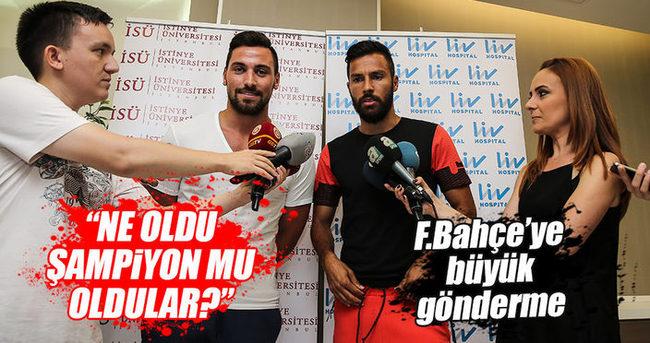 Sinan ve Yasin'den Fenerbahçe'ye transfer göndermesi