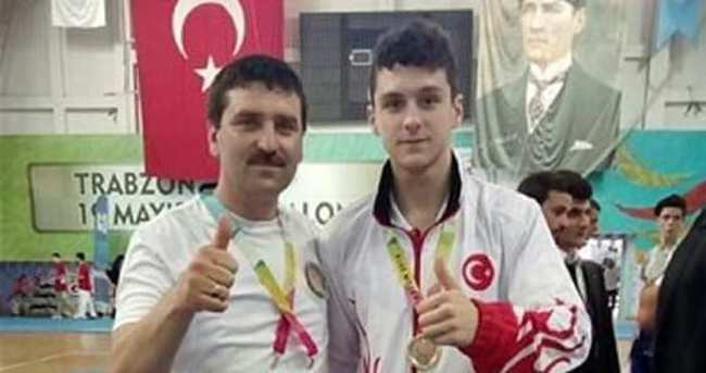 Yalovalı Karateci Gymnasiade'de şampiyon oldu