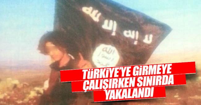 Türkiye'ye sızarken yakalandı