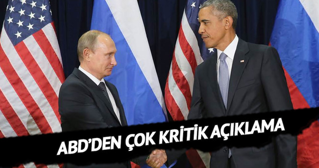 ABD'den Rusya ile işbirliği açıklaması