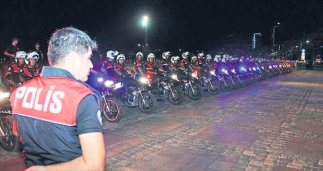 660 polisle asayiş operasyonu