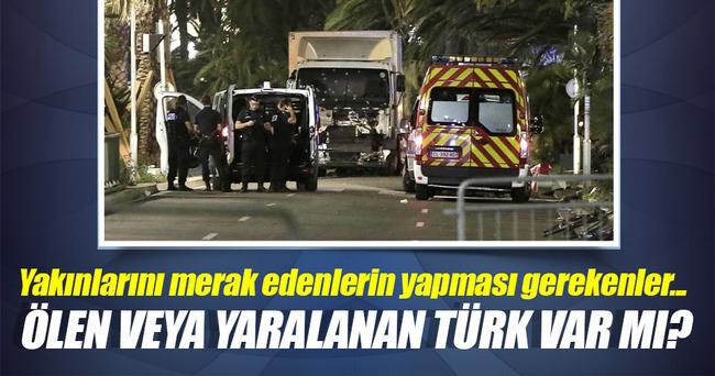Fransa'daki saldırıda ölen ya da yaralanan Türk var mı?