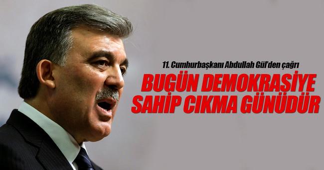 11. Cumhurbaşkanı Abdullah Gül'den sert tepki!