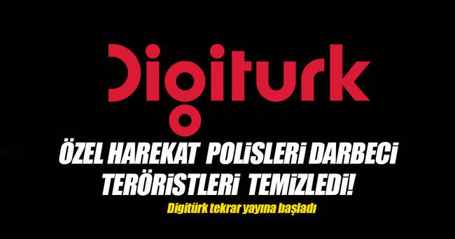 Digitürk tekrar yayına başladı