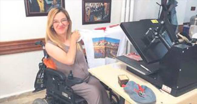 Engelliler için hediyelik eşya üretim merkezi