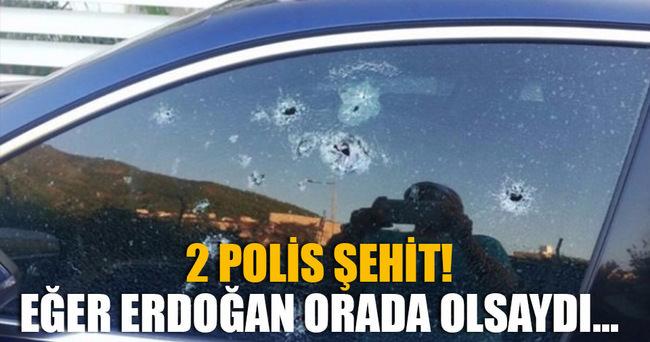 Erdoğan'ın kaldığı oteldeki aracı taradılar!