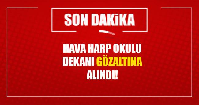Hava Harp Okulu dekanı Ayvalık'ta yakalandı!