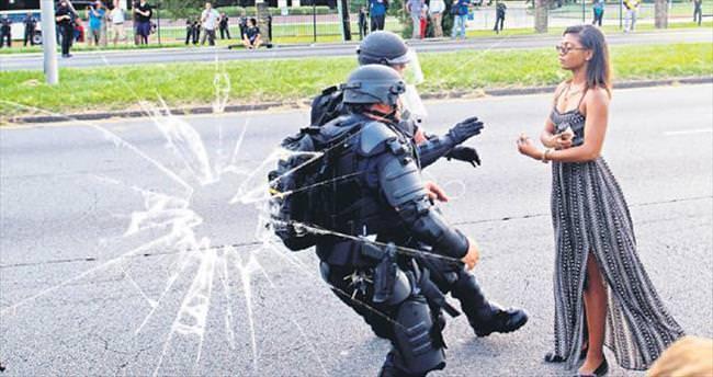 Siyahilere orantısız şiddet ABD''yi çatırdatıyor