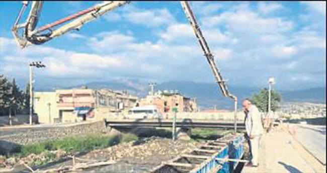 Feyezan Kanalı'nda çalışmalar tam gaz