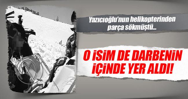 Muhsin Yazıcıoğlu'nun helikopterinden parça sökmüştü!