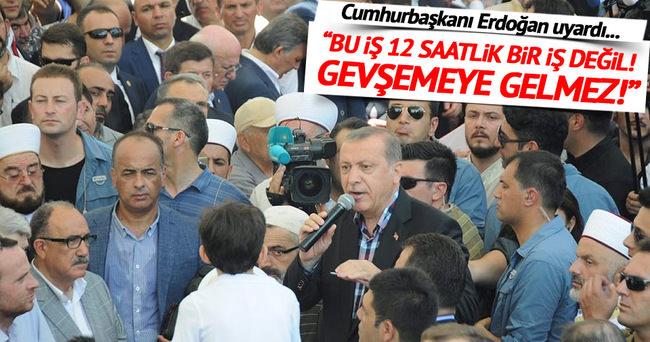 Erdoğan: Teker teker dökülüyorlar