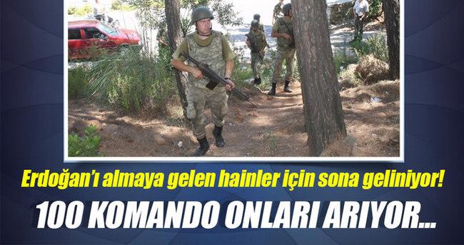 Marmaris'te ormana kaçan 40 asker aranıyor!