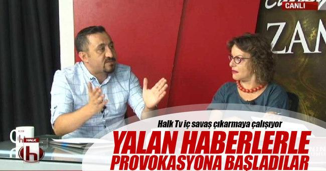Halk TV'den canlı yayında provokasyon