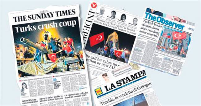 'Türkler darbeyi ezdi geçti'