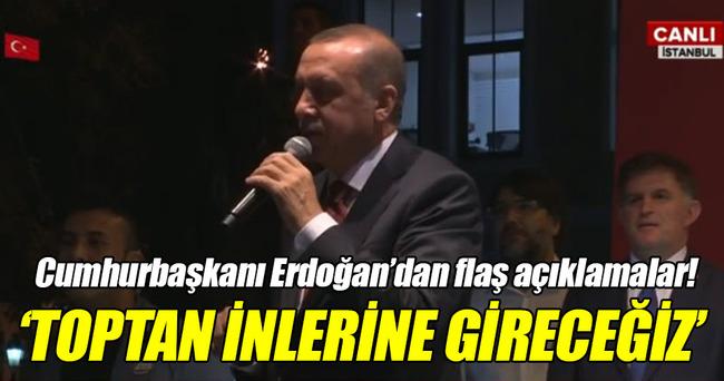 Cumhurbaşkanı Erdoğan'dan Kısıklı'da flaş açıklamalar!