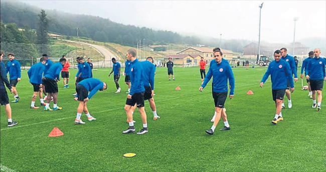 Antalyaspor'un Topuk mesaisi