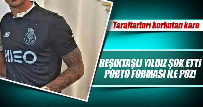 Quaresma Porto formasıyla poz verdi