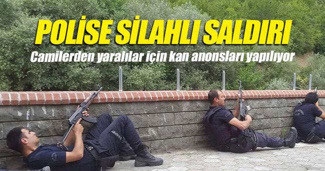 Trabzon'da emniyet müdürlüğüne saldırı