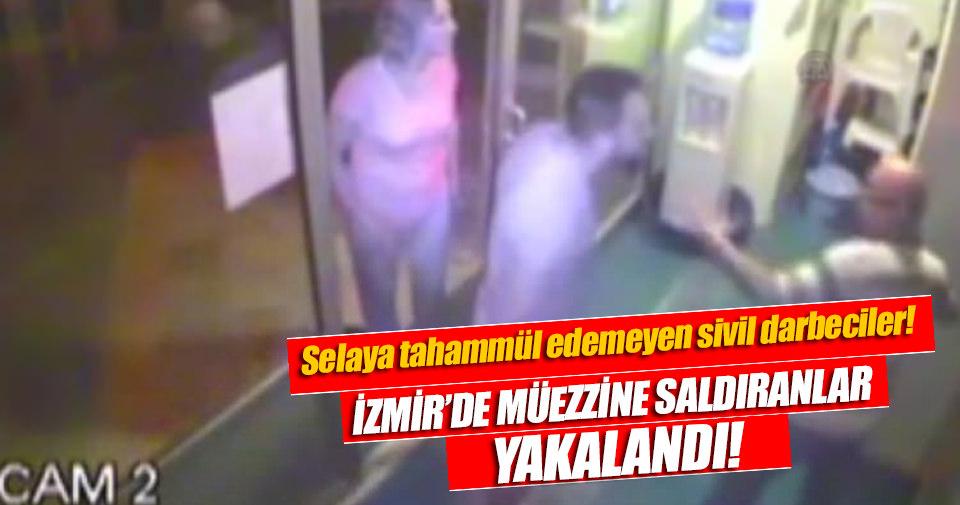 İzmir'de müezzine saldıranlar yakalandı
