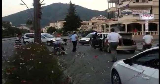 Polis memurunu araçla ezdiler