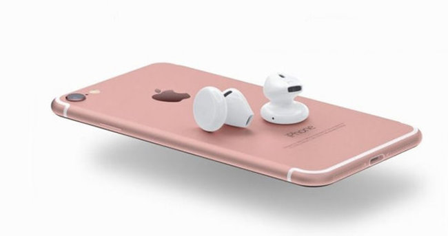 iPhone 7'de kablosuz kulaklık sürprizi