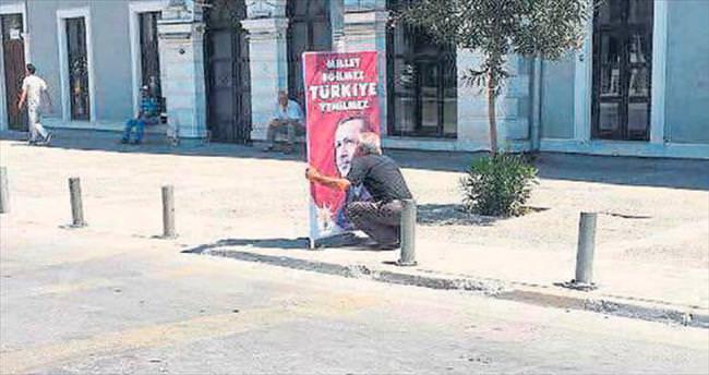 Millet eğilmez Türkiye yenilmez